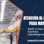 atencion al cliente para mayorista trabajo tucuman