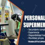 atencion al cliente para supermercado trabajo tucuman