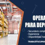 operarios para deposito trabajo tucuman