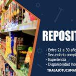 repositores para empresa de retail trabajo tucuman