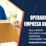 operarios para empresa de correo trabajo tucuman