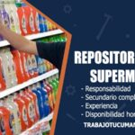 repositores para supermercado trabajo tucuman