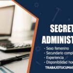 secretaria administrativa trabajo tucuman