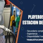 playeros para estacion de servicio trabajo tucuman