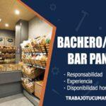 bacheroa para bar panaderia trabajo tucuman