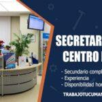 secretaria para centro medico trabajo tucuman