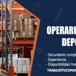 operarios de deposito trabajo tucuman