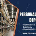 personal para deposito trabajo tucuman