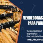 vendedoras de salon para panaderia trabajo tucuman