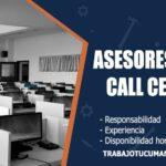asesores para call center trabajo tucuman