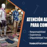 atencion al cliente para comercio trabajo tucuman