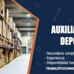 auxiliar de deposito trabajo tucuman