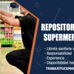 repositores para supermercados trabajo tucuman