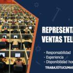 representantes de ventas telefonicas trabajo tucuman